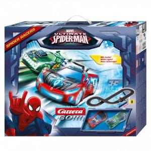 Circuit electric masinute Spiderman si Goblin Spider Racers Carrera Go 3,6 m