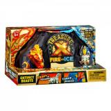 Figurina surpriza Treasure X Foc vs Gheata, Bestii, S4