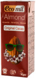 Bautura bio de migdale cu cacao, 200 ML Ecomil