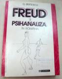 FREUD SI PSIHANALIZA IN ROMANIA de G. BRATESCU 1994