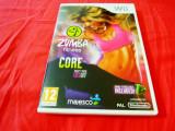 Joc Zumba Fitness Core + centură, wii, original, alte sute de titluri