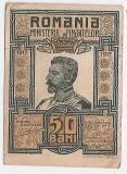 ROMANIA 50 BANI 1917 XF