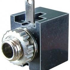 Conector jack 3,5mm, mono, mama, pe panou - 121301
