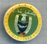 AX 150 INSIGNA VANATOARE SI PESCUIT SPORTIV PERIOADA RSR -A.G.V.P.S -1948-1988