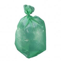 Saci Menaj Polietilena 120L / Verde, 10/Set