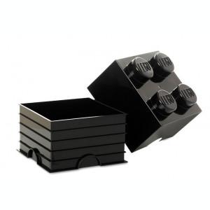 Cutie depozitare LEGO 2x2 negru (40031733)