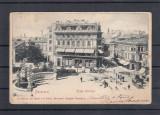 BUCURESTI  PIATA  SARINDAR   RESTAURANT COSMA TRASURI  CLASICA  CIRC. 1903 UPU