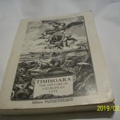 timisoara the history of a european city- iliesu an 2004-limba engleza