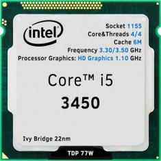Procesor Intel Ivy Bridge, Core i5 3450 3.10GHz-Socket 1155