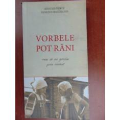 Vorbele pot rani-Arhimandrit Vasilios Bacoianis