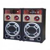 Boxe Active Audio cu Bluetooth, Radio FM si USB 50W 8Inch Ailiang 198D