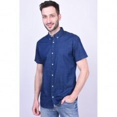 Camasa Blugi Jack&Jones Aron Button Down Medium Blue Denim