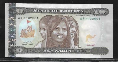 Eritrea  10  Nafka 1997 -UNC foto