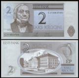 Estonia 2007 - 2 krooni UNC