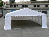 6x8 M CORT EVENIMENTE PROFESSIONAL XXL, PVC 550g/m² IGNIFUG ALB