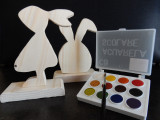Figurine lemn pentru pictat - handmade by artproduct.ro