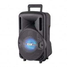 Boxa bluetooth tip troler Lige X1, 10 W, Mp3 Player, radiop FM, acumulator