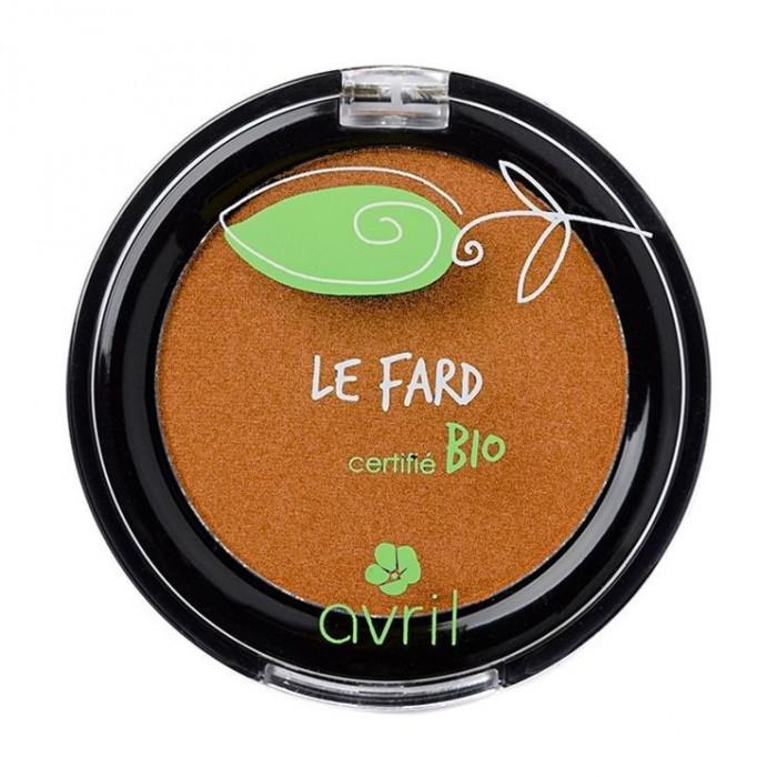 Fard de pleoape bio Pearly Copper - Avril