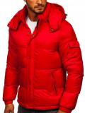 Cumpara ieftin Geacă de iarnă matlasată roșie Bolf 1161
