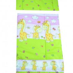 Set lenjerie de pat 2 piese 120 x 90 cm pentru copii Semma SLPSB-23, Multicolor