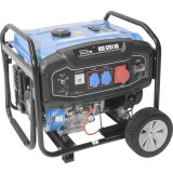 Cumpara ieftin Generator de curent pe benzina GSE 6701 RS Guede GUDE40730, 9000 W, 2x230 V, 1x400 V