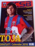 "Revista fotbal - ""FCSB"" revista oficiala a FC Steaua Bucuresti (nr.11 / 2009)"