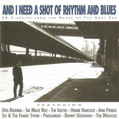 CD And I Need A Shot Of Rhythm And Blues