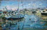 """În port"" 26x17 cm"