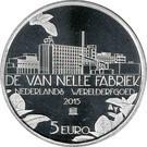 Olanda 5 Euro 2015 - Willem-Alexander (Van Nellefabriek) 29 mm KM-362 UNC !!!, Europa
