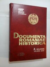 DOCUMENTA ROMANIAE HISTORICA - A. MOLDOVA vol. XXVII (1643-1644) - P. Zahariuc, C. Chelcu, M. Chelcu si altii foto