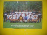 HOPCT 61504 ECHIPA DE FOTBAL DINAMO VICTORIA BUCURESTI 1987 -NECIRCULATA