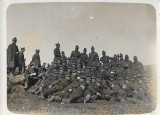 A570 Fotografie elevi militari artilerie romani 1931 poza veche