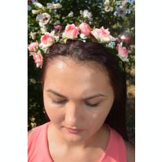Cordeluta moderna cu flori mici colorate, marime reglabila
