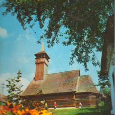 CPIB 15386 - CARTE POSTALA - OLANESTI. BISERICA DE LEMN A LUI HORIA