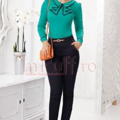 Pantaloni Fofy bleumarin
