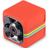 Cumpara ieftin Mini Camera Spion iUni SQ11, Full HD 1080p, Audio Video, Night Vision, TV-Out, Red