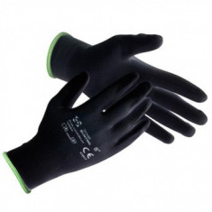 Mănuși de lucru Strend Pro Brotula Black 11, cu strat de latex, marimea XL