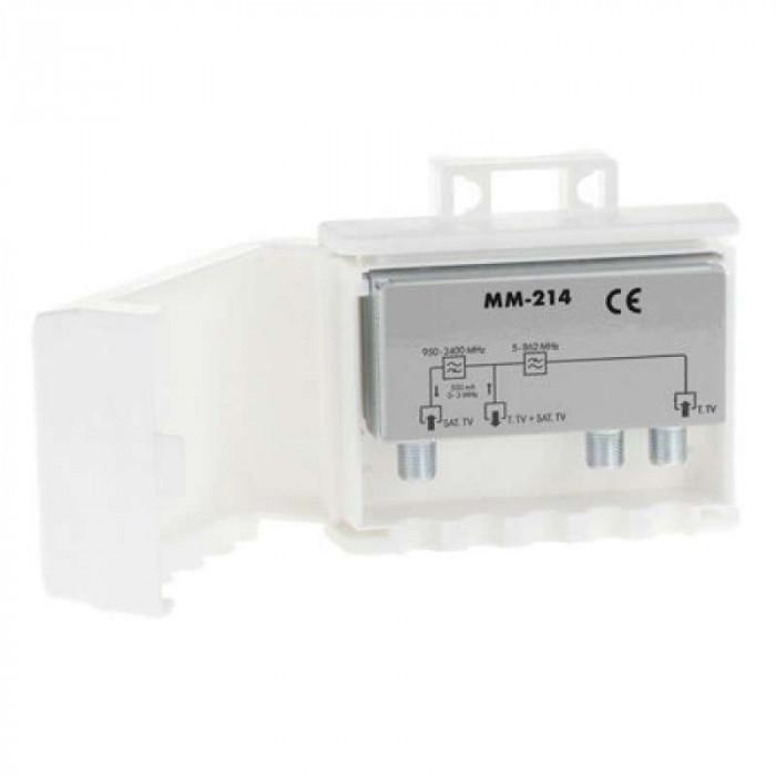 Filtru TV-SAT Cabletech MM214, antena TV externa si satelit