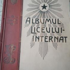 Albumul liceului internat 1895-1906 Iași