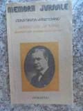 Pentru Cei De Miine Amintiri Din Vremea Celor De Ieri Vol. Pa - Constantin Argetoianu ,533623, Humanitas