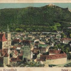 Carte poștală Brașov vedere