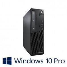 PC Refurbished Lenovo ThinkCentre M72e DT, i5-3470, Win 10 Pro