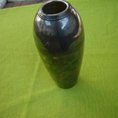 Vaza suedeza argintata
