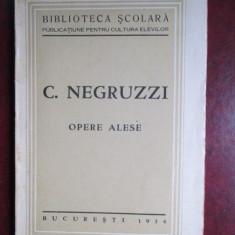 Opere alese-C.Negruzzi