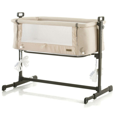 Patut Co-Sleeper Chipolino Close To Me Beige Stars foto