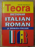 DICTIONAR ITALIAN-ROMAN SI ROMAN-ITALIAN-ALEXANDRU BALACI