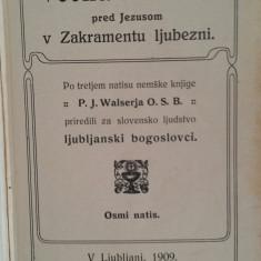VECNA MOLITEV PRED JEZUSOM - RUGACIUNI CATRE IISUS {1909}