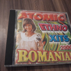 CD MANELE ATOMIC ETHNO XITS 2000 ROMANIA ORIGINAL