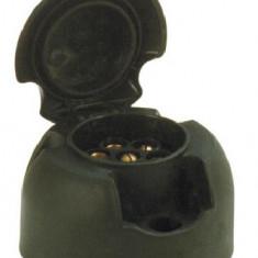 Priza remorca auto Carpoint 12V 7 pini plastic , 1 buc 410002
