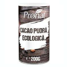 Cacao Pudra Bio 200gr Pronat Cod: PRN20001